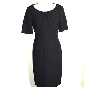 Textured Black Dress by Ellen Tracy. Size 10